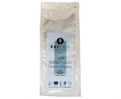 Βιολογικό Αλεύρι Ρυζιού ολικής χωρίς γλουτένη 500gr
