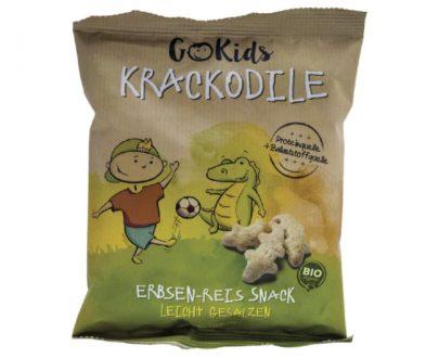 Γαριδάκια κροκοδειλάκια με αρακά και ρύζι Go Kids 30gr