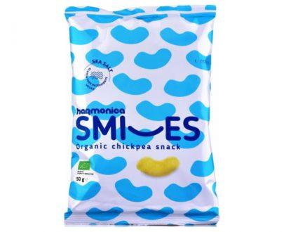 Γαριδάκια ρεβιθιού Smiles 50gr Harmonica