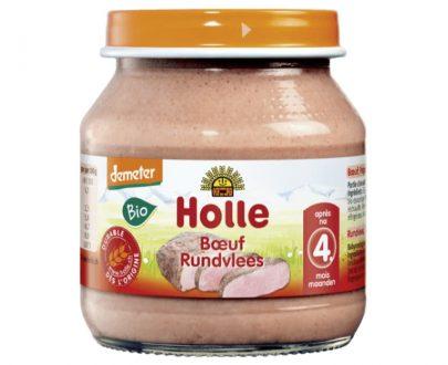 Κρέας βόειο βιοδυναμικής καλλιέργειας σε βάζο Holle 125gr