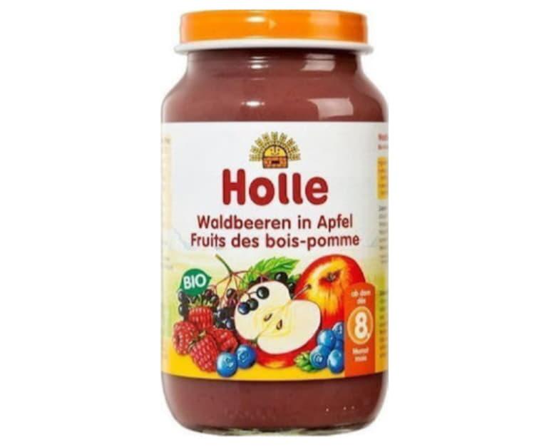 Μήλο και φρούτα του δάσους σε βάζο Holle 220gr