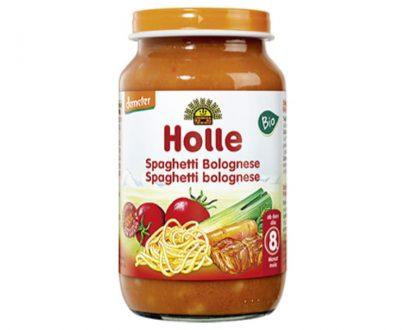 Σπαγγέτι με σάλτσα Bolognese σε βάζο Holle 220gr