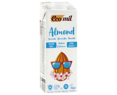 Ρόφημα Αμυγδάλου Φυσικό με Ασβέστιο χωρίς γλυκαντικά 1lt Ecomil