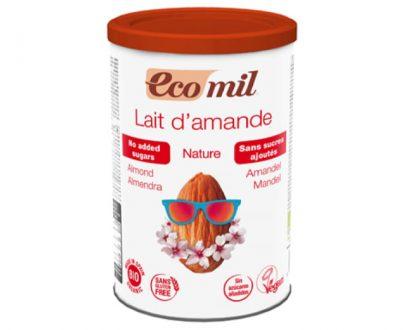 Γάλα Αμυγδάλου σε σκόνη χωρίς ζάχαρη 400gr Ecomil
