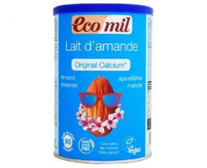 Γάλα Αμυγδάλου σε σκόνη με Ασβέστιο (από θαλασσινά φύκια) 400gr Ecomil